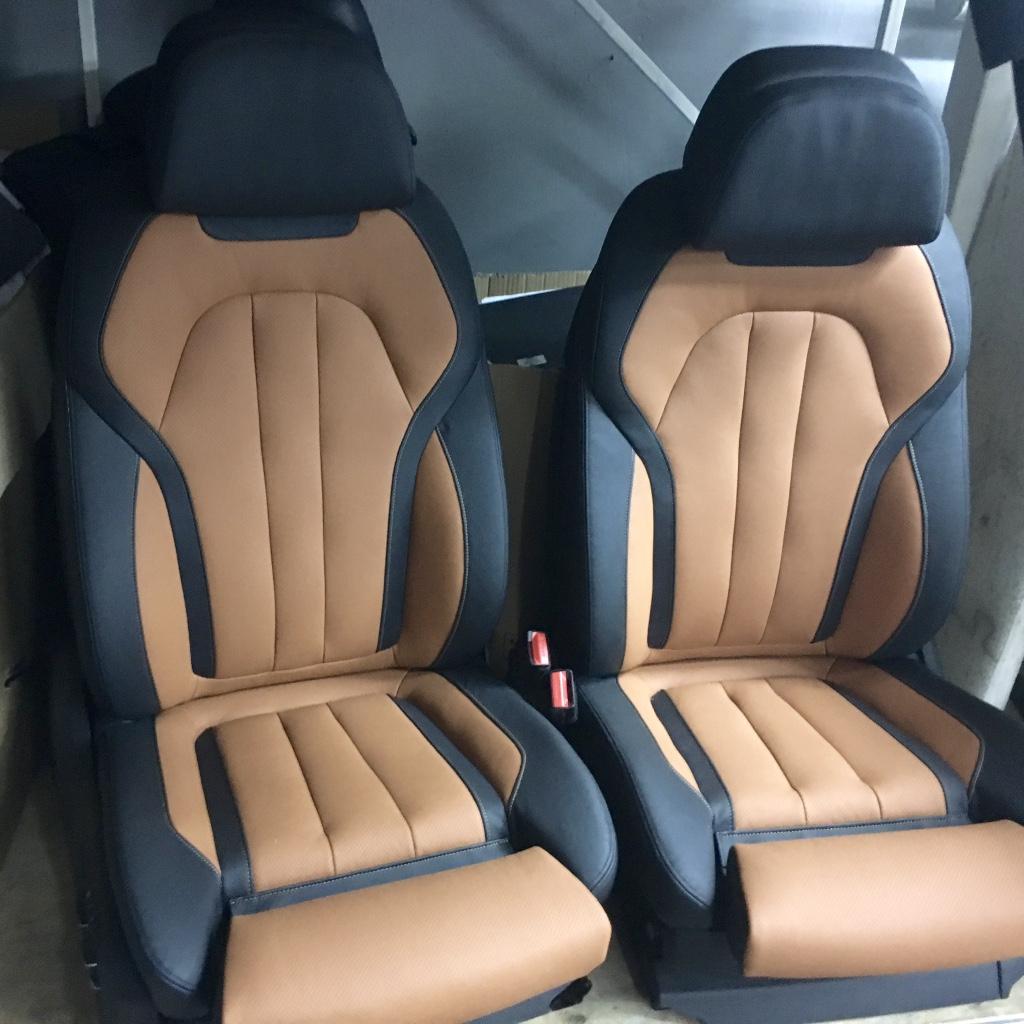 Перетяжка сидений БМВ