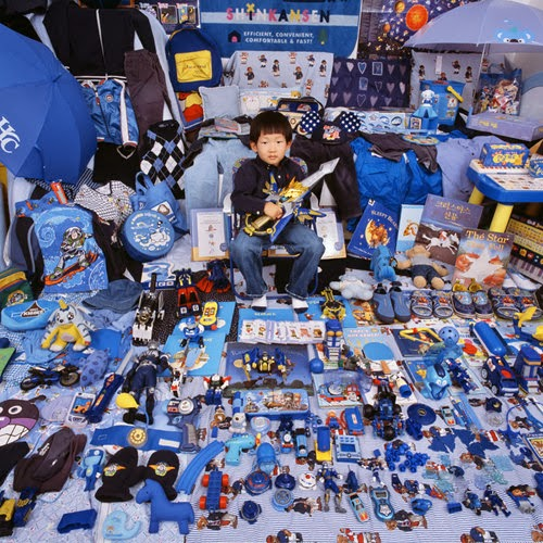 2007-JeongMeeYoon-Kihun and his blue things, 2007
