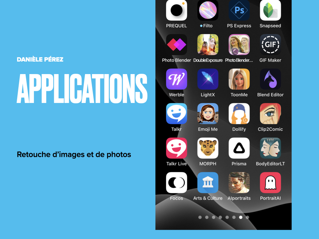 Applications retouche image smartphone