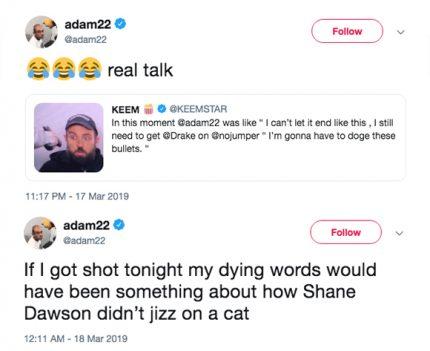 youtube star adam22 held