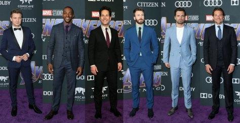 Avengers Endgame los Angeles red carpet