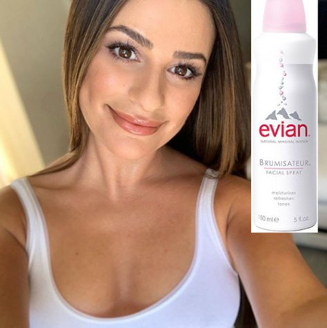 Lea Michele Favorite drugstore beauty products