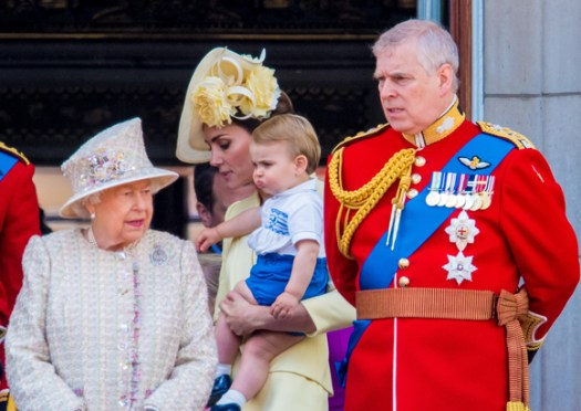 Prince Andrew at Trooping the Colour 2019