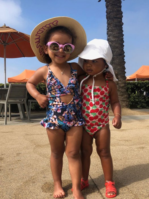 Dream Kardashian and True Thompson!