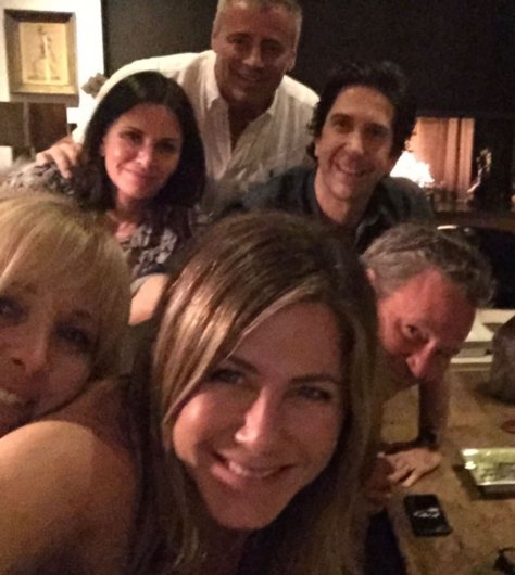Jennifer Aniston and her 'Friends'!