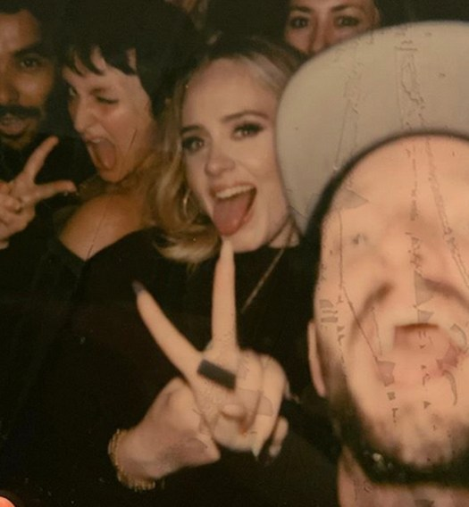 Adele loves Drake