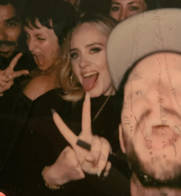 Adele loves Drake