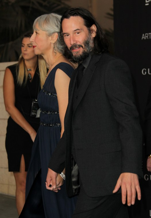 Keanu and Alexandra are also business partners