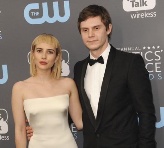 Evan Peters and Emma Roberts broke up