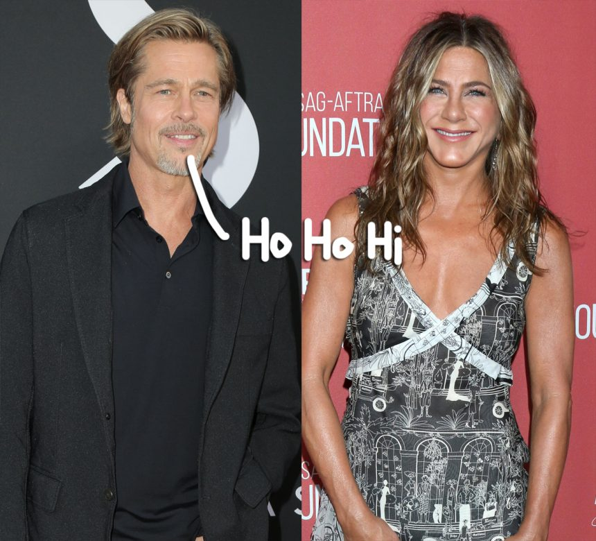 Brad Pitt Went To Jennifer Aniston S Holiday Party He Was Among The First To Arrive The Union Journal