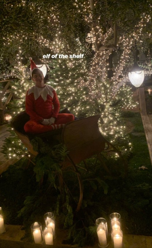 Kardashian Christmas party details 4