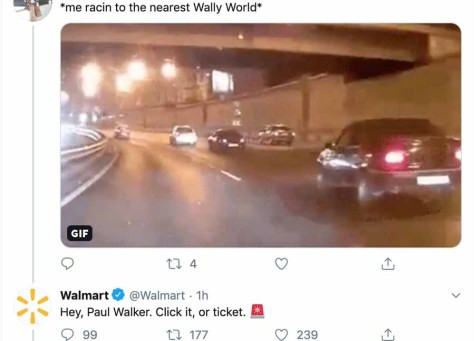 Walmart deletes insensitive joke about Paul Walker
