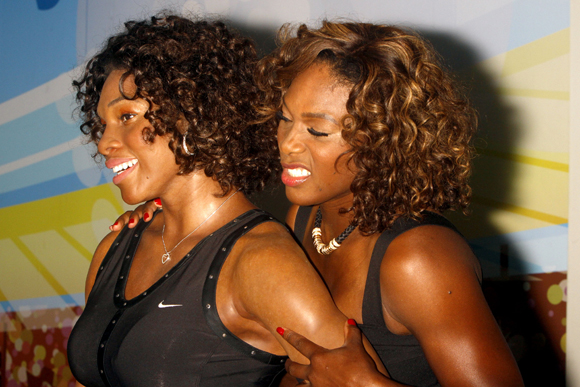 Serena Williams wax figure