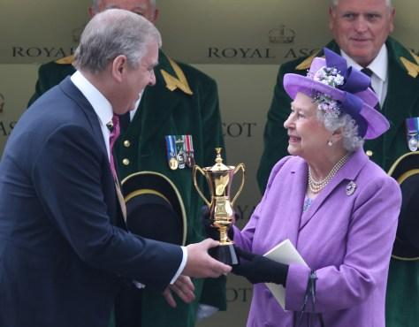 prince andrew queen 2013