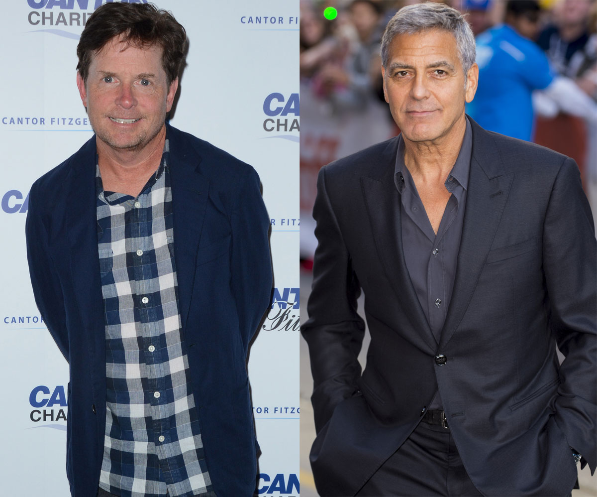 Bet you had no idea Michael J. Fox and George Clooney are the same age!