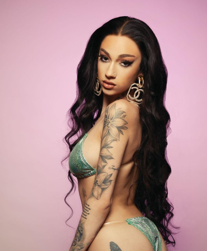 Bhad Bhabie Looks HAWT AF In Cover Photos For Inked Magazine!!