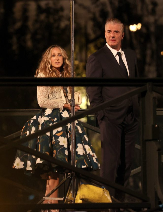 Carrie & Big Are Back In PARISSSS!