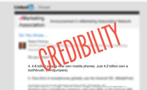 Credibility Internet Stat