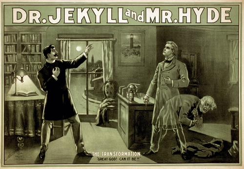 Jekyll-and-hyde direct marketing creative
