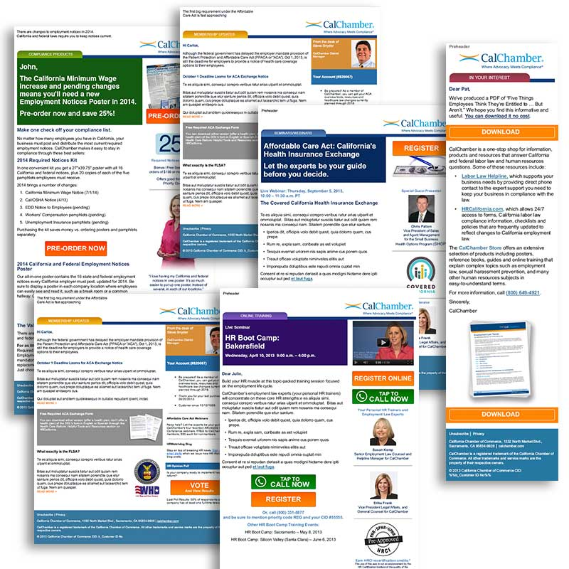 Carlos Perez State Chamber Of Commerce B2b Email Templates