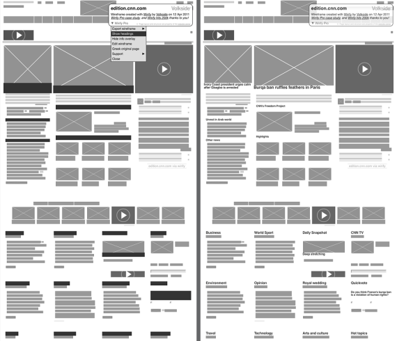 wireframe-with-headings