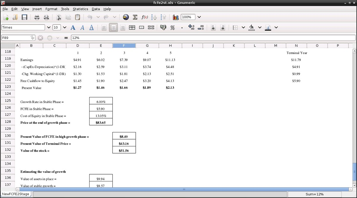 spreadsheet software definition and examples | Spreadsheets