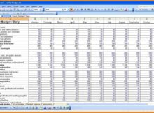 Best Wedding Budget Spreadsheet And Budget Spreadsheet Printable ...