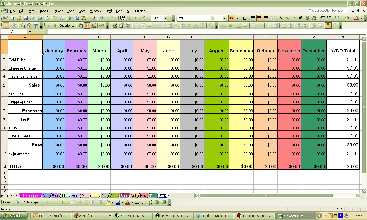Sample Data For Excel Training Spreadsheets