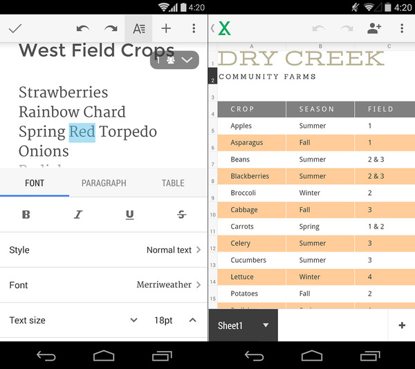 Free Spreadsheet App For Android – Best Android Spreadsheet App ...