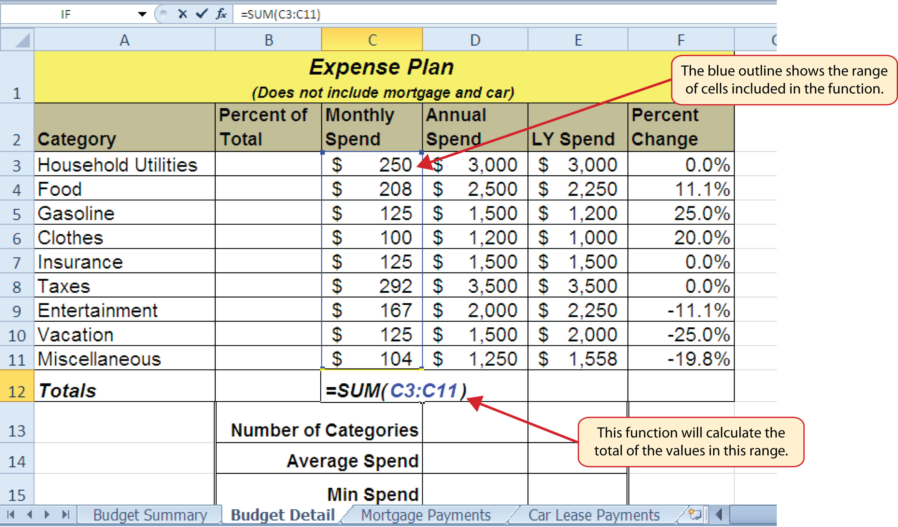 Excel Spreadsheet Lessons Free Spreadsheets