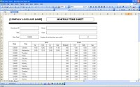 Microsoft Excel Binary Worksheet | Spreadsheets