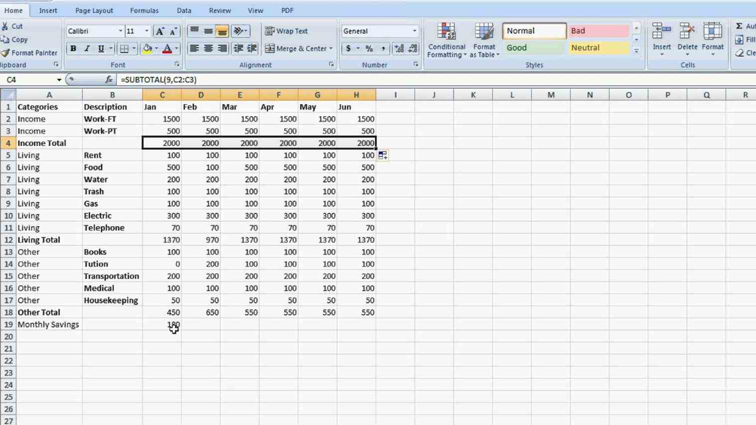 How To Make A Salary Sheet In Microsoft Excel Spreadsheets