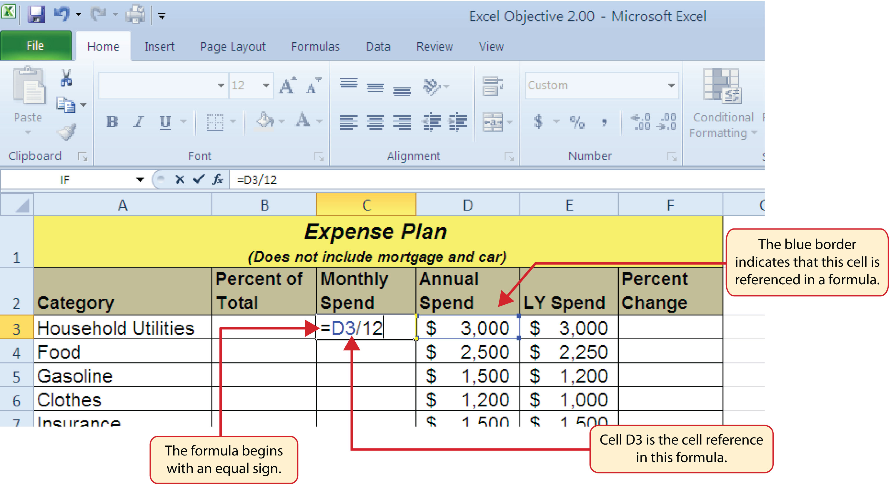 Greater Than Or Equal To In Excel Spreadsheets