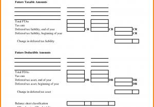Personal Assets And Liabilities Worksheet Excel