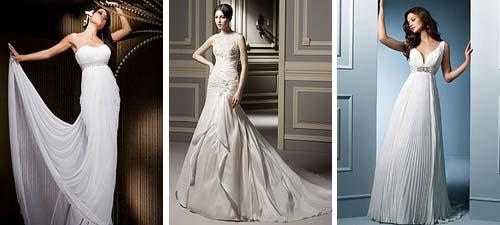Empire Waist Wedding Dress Gallery