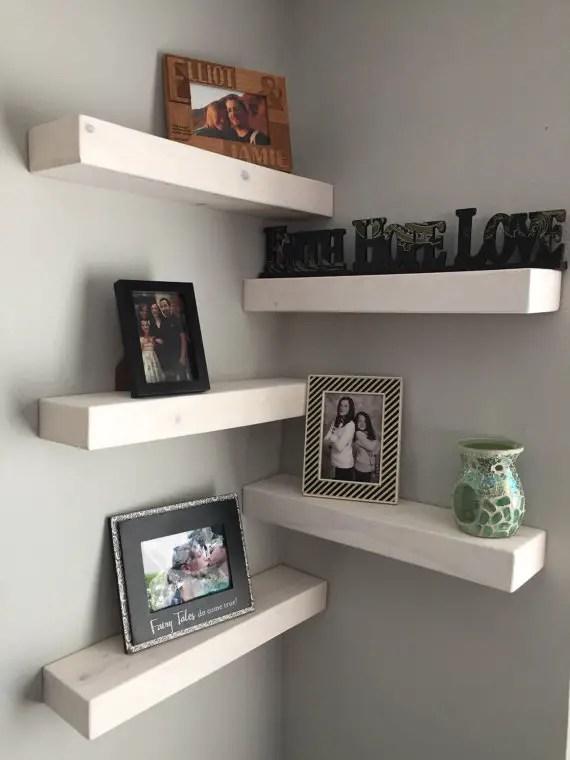 Originales repisas flotantes para tu hogar  Ideas Perfectas