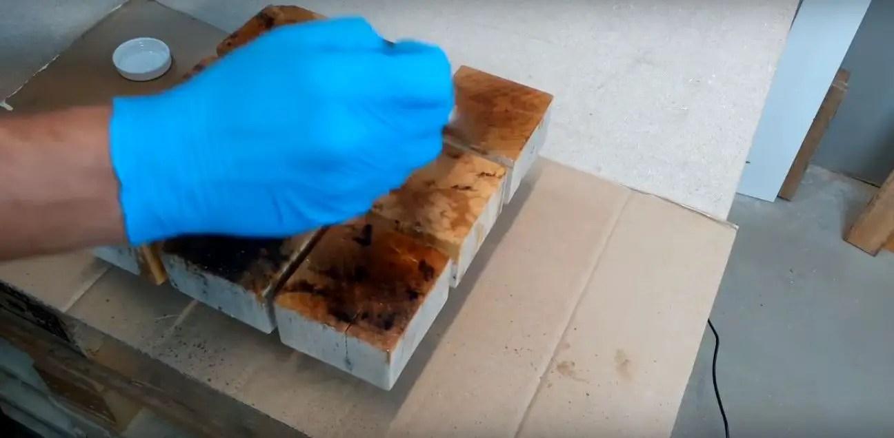 Como elaborar un reloj con bloques de madera Ideas Perfectas