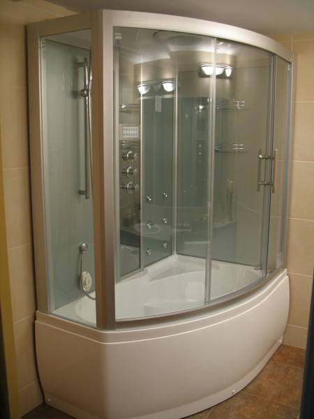 Steam Shower Whirlpool Bathtub DA328F3  Perfect Bath Canada