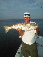 Al with a big Mexico Beach Redfish
