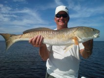 Al with a big St. Joe Bay Redfish