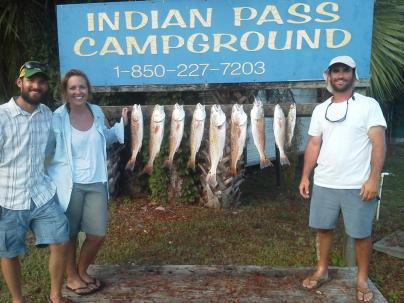 Indian Pass Redfish and Trout