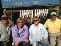 Amy Donna Harry Stan Indian Pass Trout Redfish
