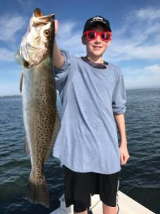 fishing charters, speckled trout, cape san blas