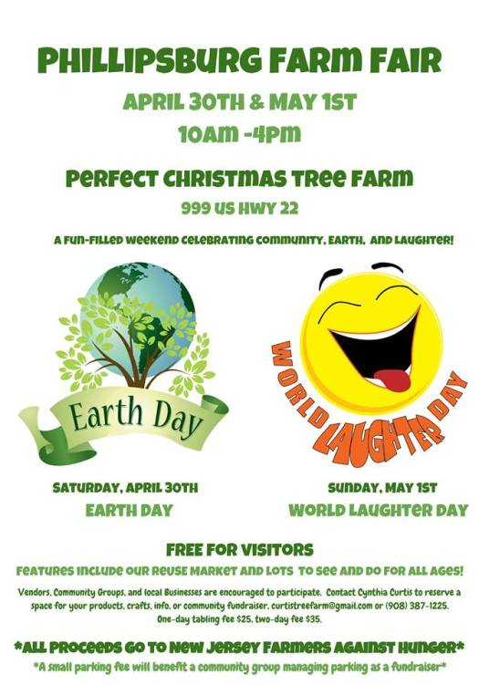 Phillipsburg Farm Fair - Earth Day - Laughter Day