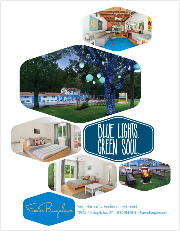 2015 Forever Bungalows Ad