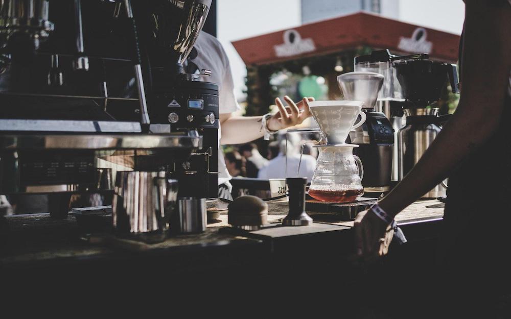 coffee shop machinery
