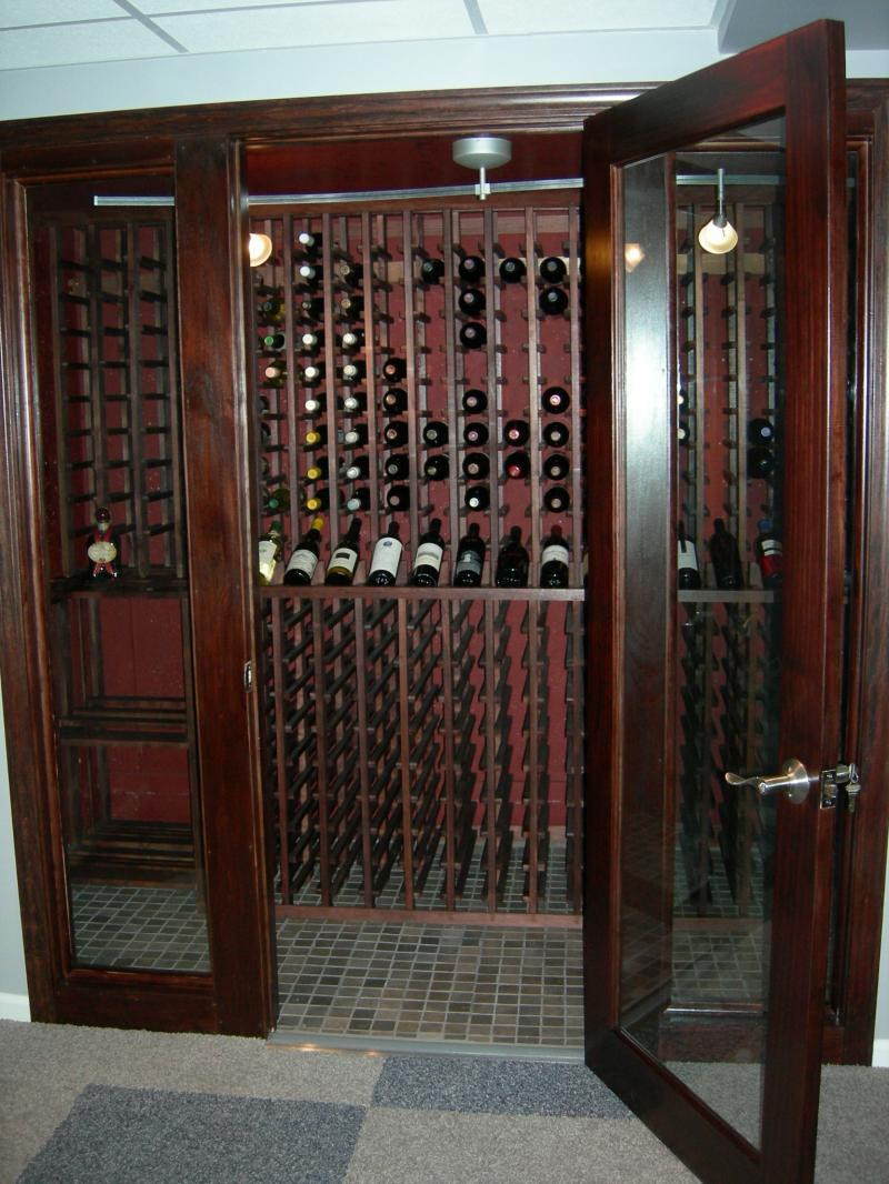 PERFECT DESIGN PATIOS  Wine Closets