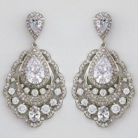 Modital Bijoux Jewelry | Classic Vintage Chandelier Earrings