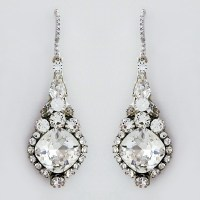 Haute Bride Jewelry | Designer Crystal Bridal Earrings