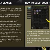 Dragon Nest Talisman System Guide
